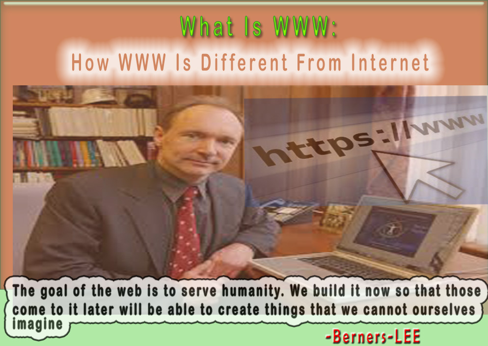 What is WWW focus image