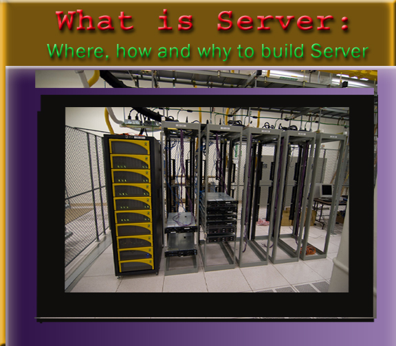 What is Server focus image