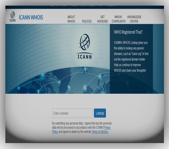 Domain Registration (ICANN WHOIS)
