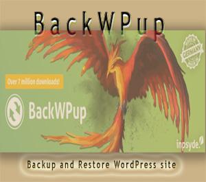 BackWPup to backup WordPress site