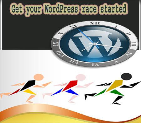 Let's start WordPress blog