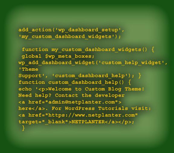 WordPress plugin and function.php sample