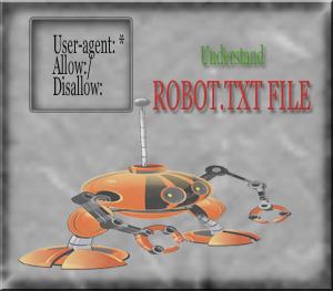 Understand ROBOT.TXT file