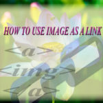 How to use image as a link with CSS