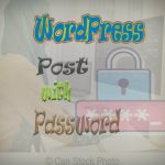 How to publish WordPress post with Password