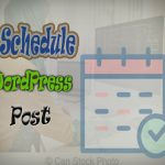 How to schedule WordPress post to be published next time